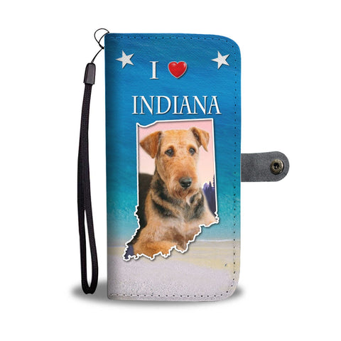 Airedale Terrier Wallet CaseIN State