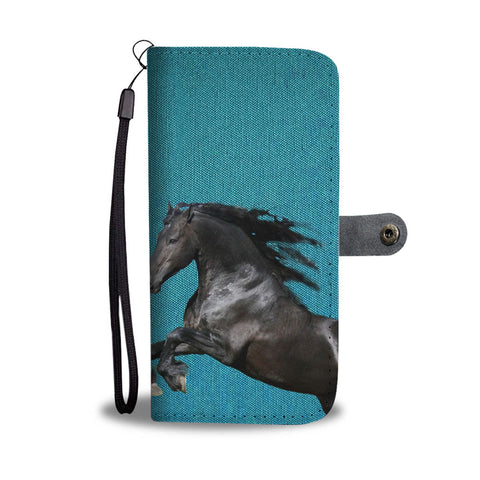 Amazing Andalusian Horse Print Wallet Case