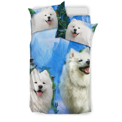 American Eskimo Print Bedding Set