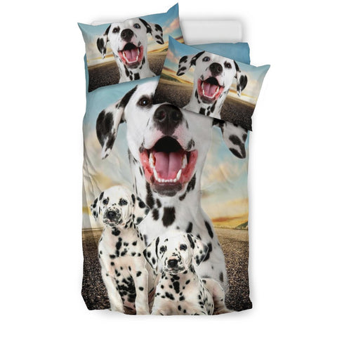 Dalmatian Dog Print Bedding Set