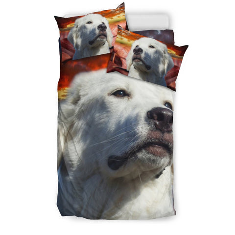 Great Pyrenees Print Bedding Set