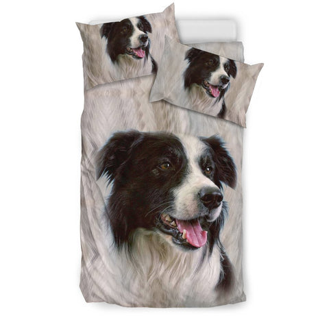 Border Collie Print Bedding Sets