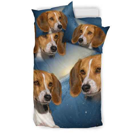 American Foxhound Print Bedding Set