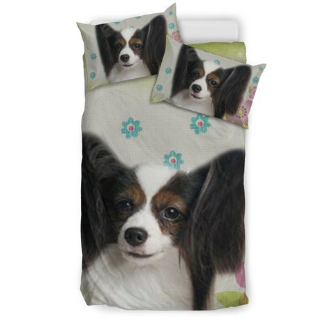 Papillon Dog Print Bedding Sets