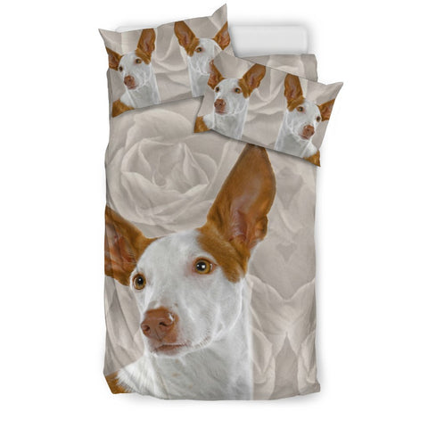 Cute Ibizan Hound Dog Print Bedding Sets