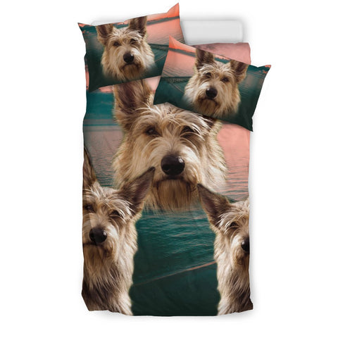 Berger Picard Dog Print Bedding Set