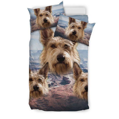 Cute Berger Picard Dog Print Bedding Set