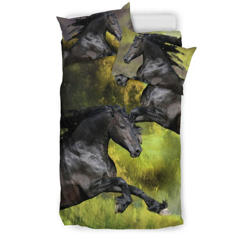 Amazing Andalusian Horse Print Bedding Set