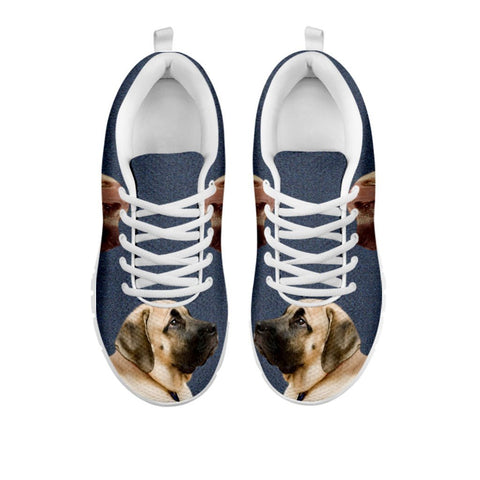 Amazing English Mastiff Print Running Shoes For WomenFor 24 Hours Only