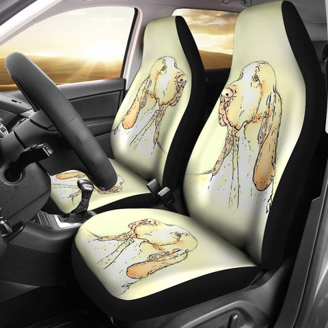 Bracco Italiano Dog Print Car Seat Covers