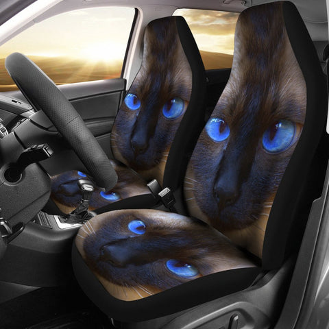 Siamese cat Print Car Seat Covers