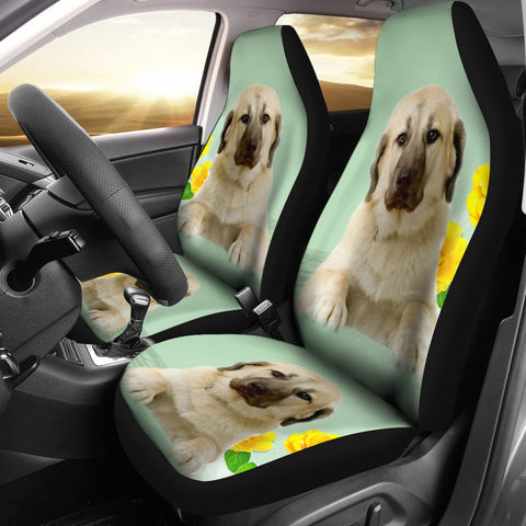 Anatolian Shepherd Dog Print Car Seat Covers