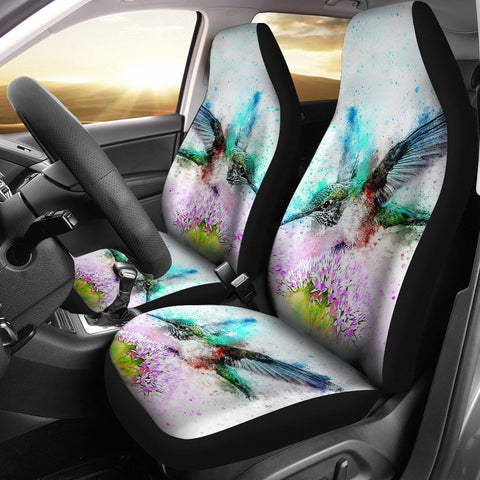 Amazing Bird Color Art Car Seat Covers