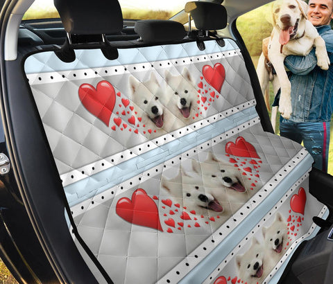 Samoyed Print Pet Seat covers