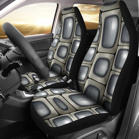 Abstract Design Print Car Seat Covers