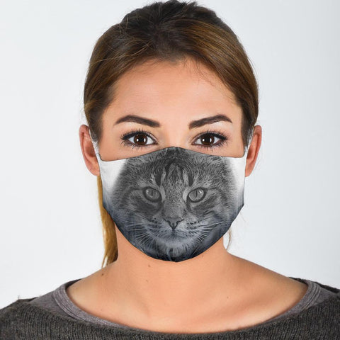 Norwegian Forest Cat Print Face Mask-Limited Edition