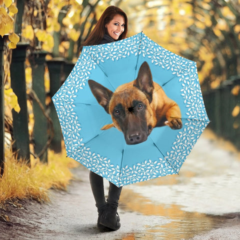 Belgian Malinois Dog Print Umbrellas