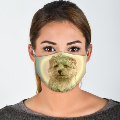 Norfolk Terrier Print Face Mask