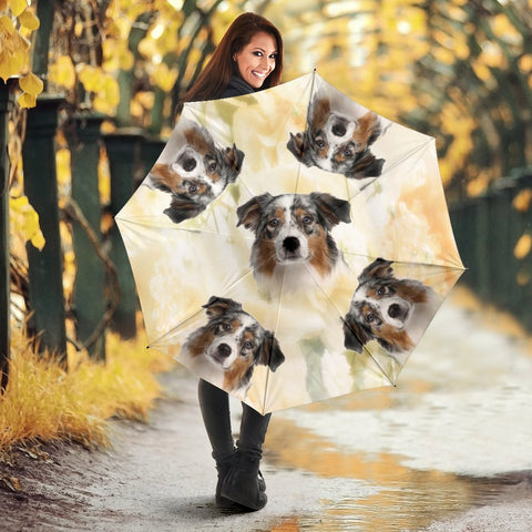Australian Shepherd Print Umbrellas- Limited Edition