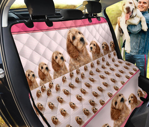 Cavapoo Dog Print Pet Seat Covers