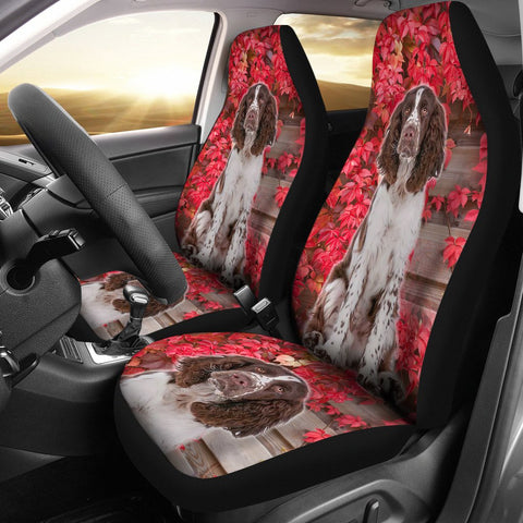 Amazing English Springer Spaniel Print Car Seat Covers
