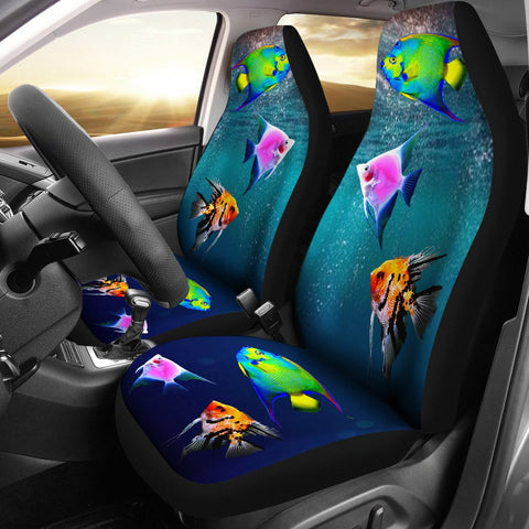 AngelFish Print Car Seat Covers
