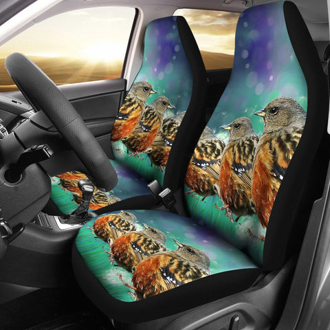 Accentor Bird Art Print Car Seat Covers