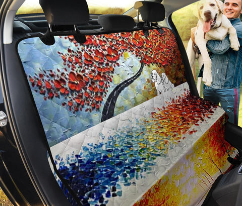 Cocker Spaniel Art Print Pet Seat covers