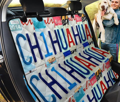 Chihuahua Print Pet Seat covers