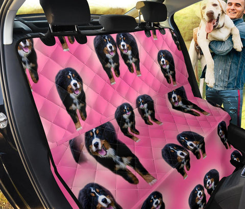 Bernese Mountain Dog Print Pet Seat covers