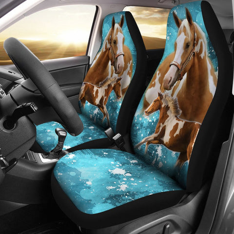 American Paint Horse Print Car Seat Covers