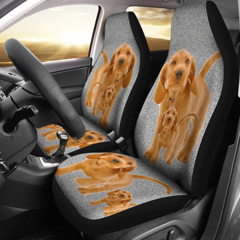 Basset Fauve de Bretagne Dog Print Car Seat Covers