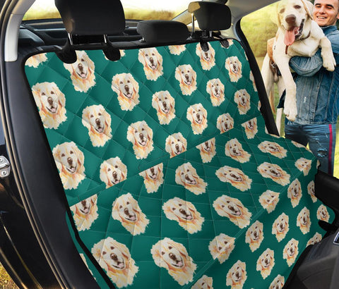Golden Retriever Pattern Print Pet Seat Covers