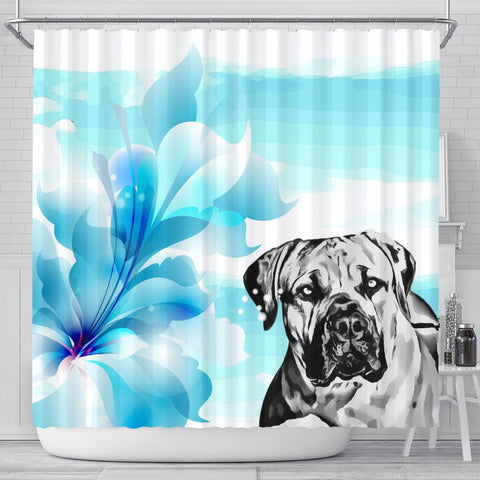 Amazing South African Mastiff (Boerboel) Dog Print Shower Curtain