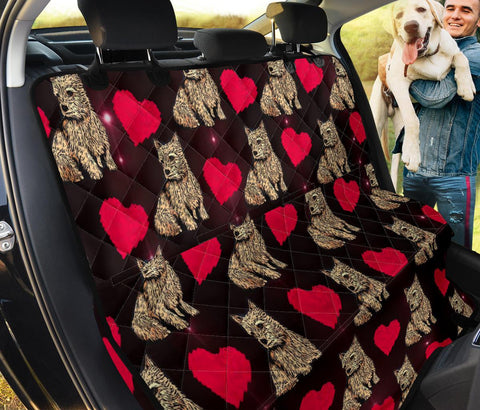 Norwich Terrier Patterns Print Pet Seat covers