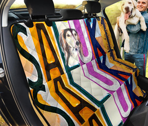 Saluki Dog Print Pet Seat Covers