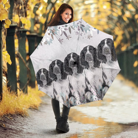 Amazing English Springer Spaniel Print Umbrellas