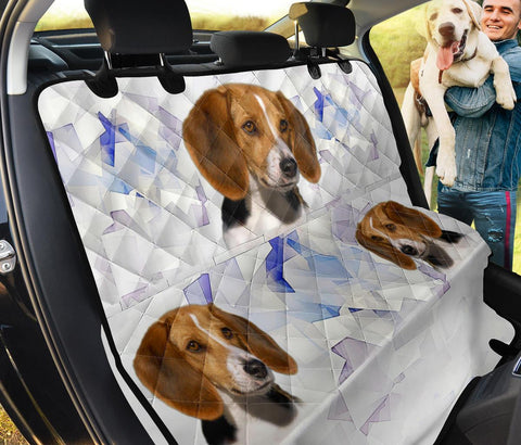 American Foxhound Print Pet Seat Covers