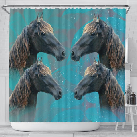 Amazing Tennessee Walker Horse Print Shower Curtains