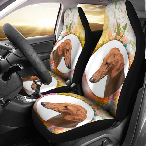 Azawakh Dog Print Car Seat Covers