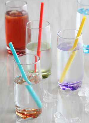 Load image into Gallery viewer, LAV Adora 6-Piece Colored Highball Drinking Glasses 13.25 oz