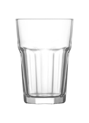 LAV Aras 6-Piece Clear Drinking Glasses 12.25 oz
