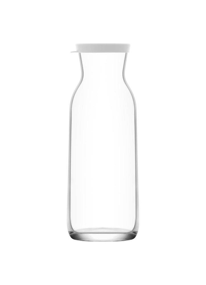 Load image into Gallery viewer, LAV Fonte 40 oz Clear Glass Pitcher Carafe with Lid