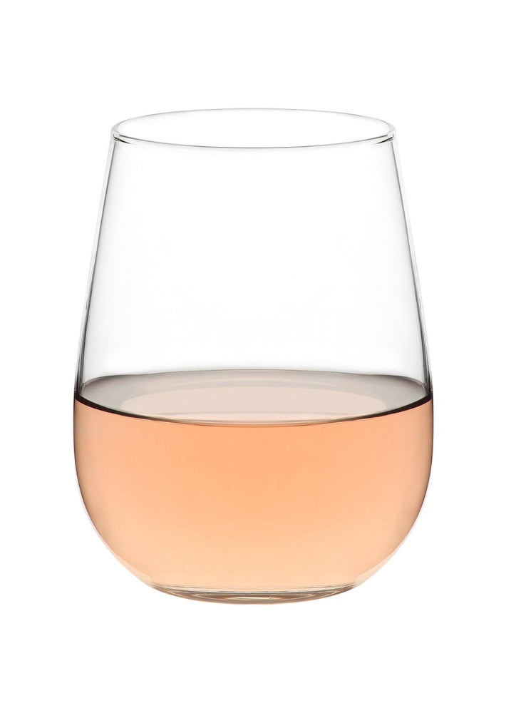 LAV Gaia 6-Piece Stemless Wine Glasses 16.25 oz