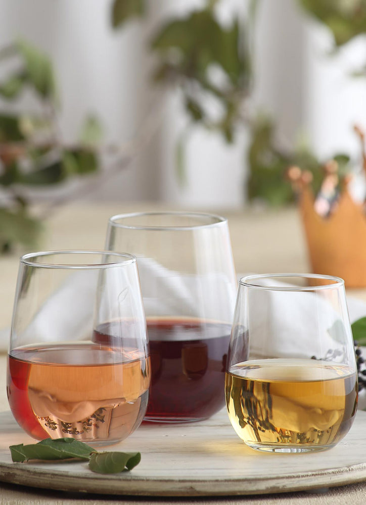 LAV Gaia 12-Piece Stemless Wine Glasses Set