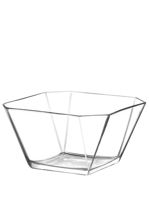 LAV Karen Clear Large Glass Salad Bowl 64 oz