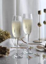 LAV Venue 6-Piece Champagne Glasses 7.5 oz