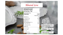 Load image into Gallery viewer, Almond Love: Vegan Naturally Sweet Candy Bar
