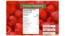 Load image into Gallery viewer, Raspberry Coconut: Vegan Naturally Sweet Candy Bar