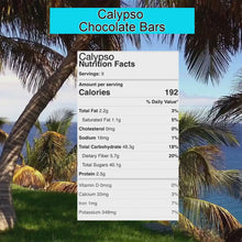 Load and play video in Gallery viewer, Calypso: Vegan Naturally Sweet Candy Bar